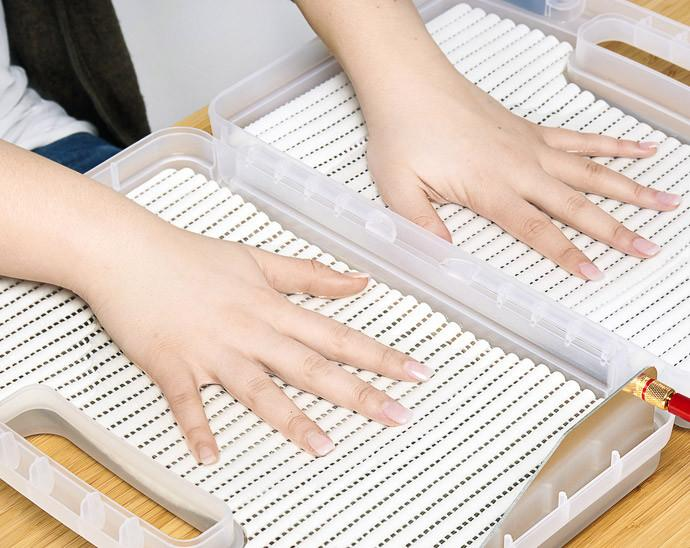 iontophoresis treatment for hands