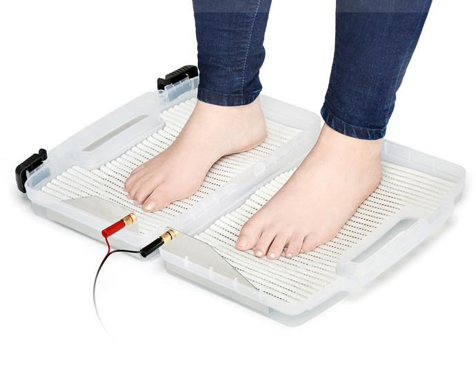 iontophoresis treatment for feet